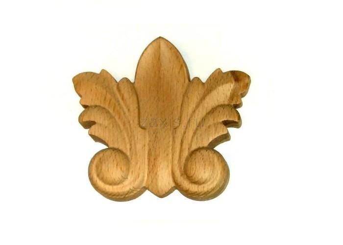 Узор из дерева изготовленный на станке CNC 4060