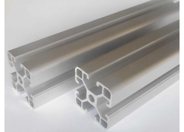 Станочный алюминиевый профиль 30x60, паз 8мм, al30x60