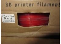 PLA пластик 1.75мм, красный
