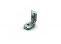 Уголок для скрытого соединения, паз 10 мм