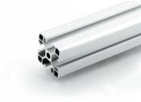 Станочный алюминиевый профиль 40x40, паз 10мм