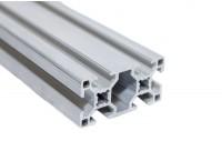 Станочный алюминиевый профиль 30x60, паз 8мм