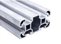Станочный алюминиевый профиль 40x80, паз 10мм
