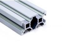 Станочный алюминиевый профиль 20x40, паз 6мм
