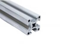 Станочный алюминиевый профиль 30x30, паз 8мм